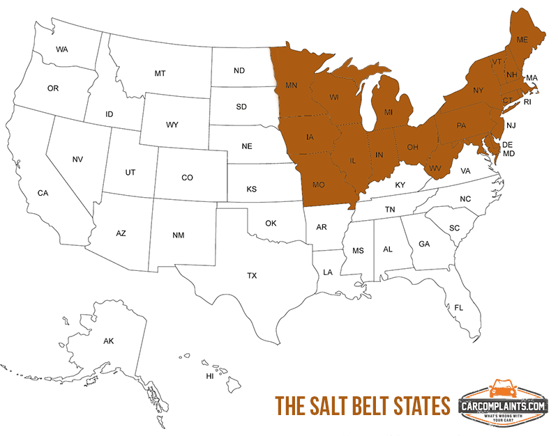 "The ""Salt Belt"" States"